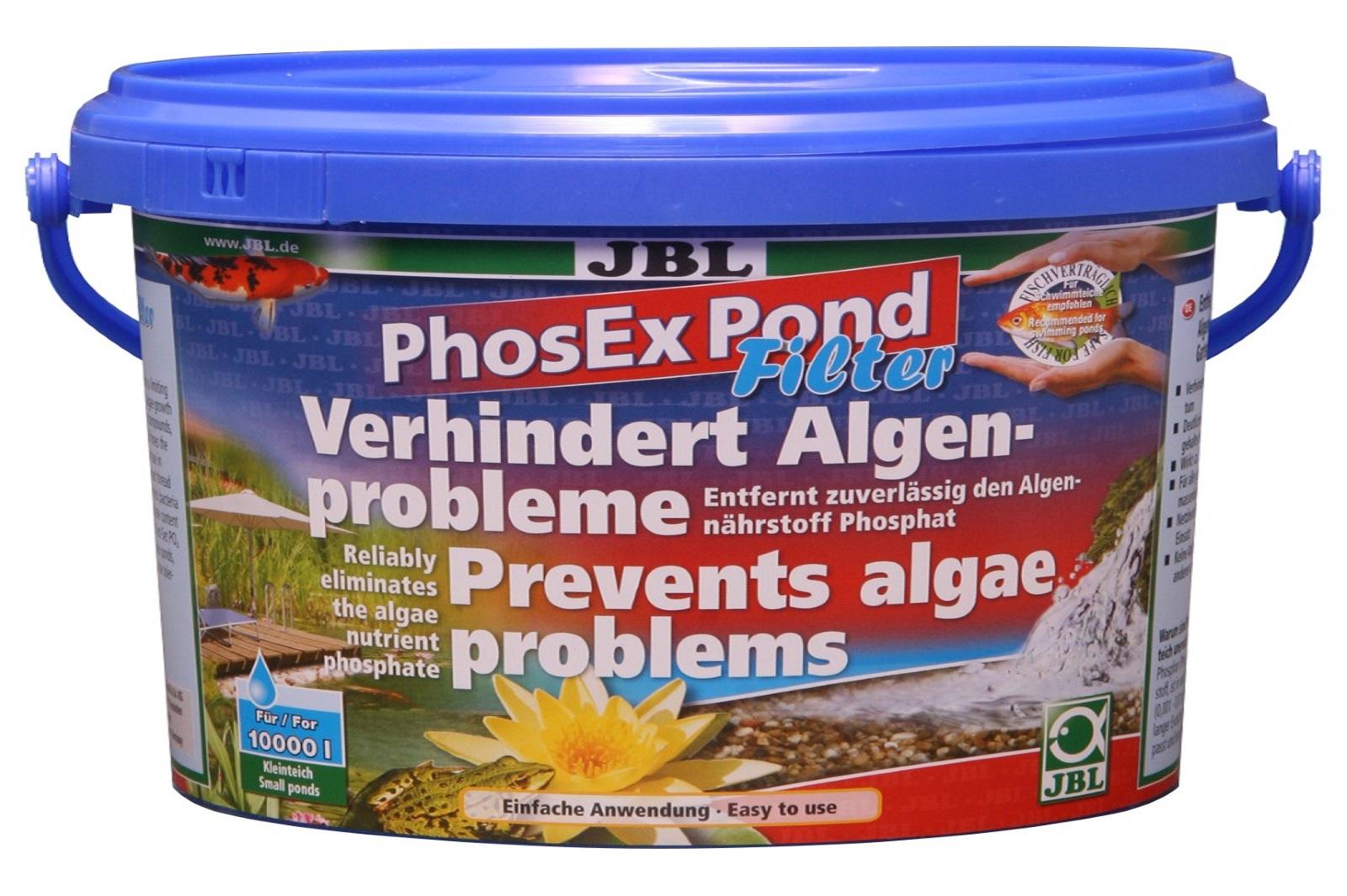 JBL PhosEX Pond  Filter 1 kg  Phosphatentferner f.Teichfilter Algenbeseitigung