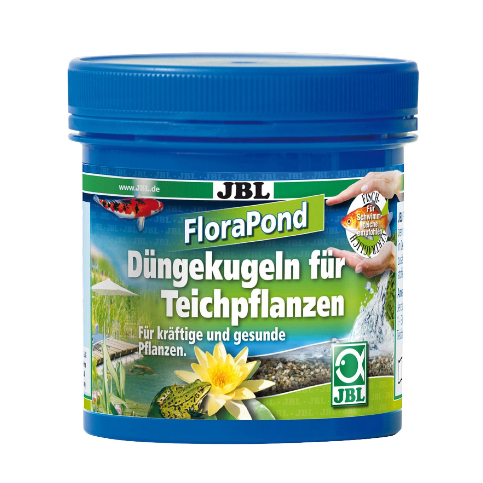 JBL Flora Pond 8 Kugeln 30 mm Durchmesser - Düngekugeln für Teichpflanzen