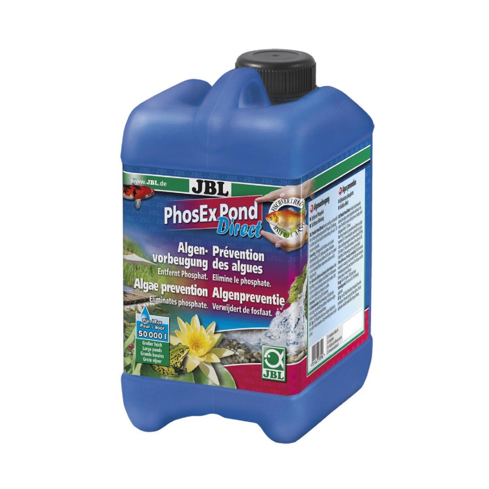 JBL PhosEX Pond Direct 5 Liter Phosphatentferner Teich Algenvorbeugung