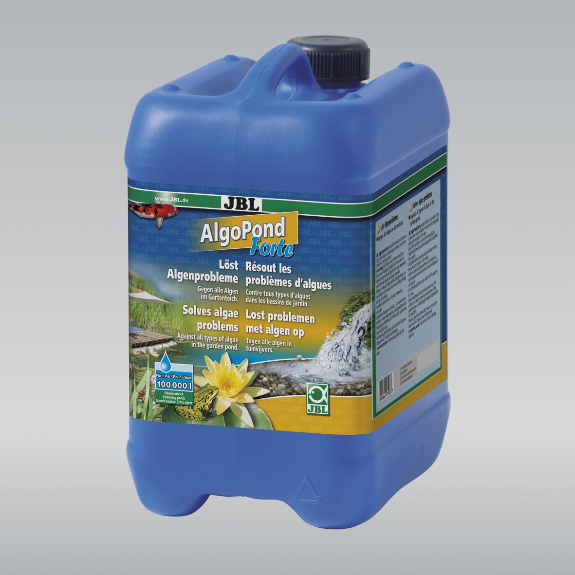 JBL AlgoPond Forte Wasseraufbereiter löst Algenprobleme für Gartenteiche 5 l