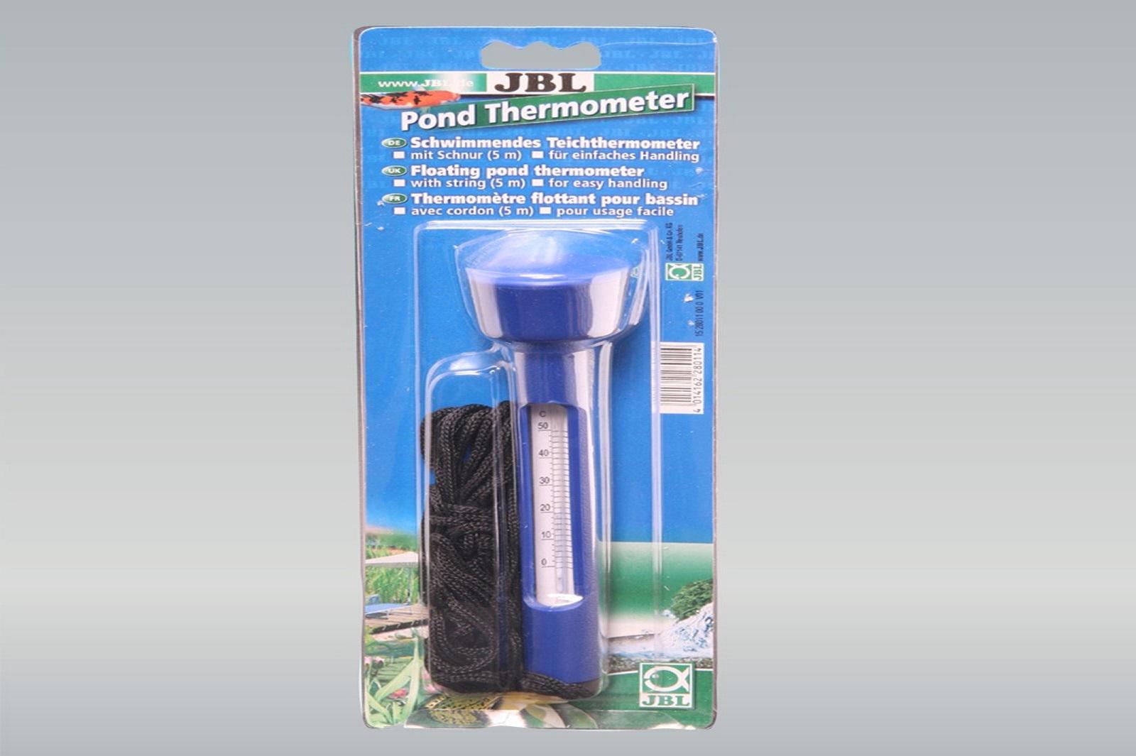 JBL Pond Thermometer Zubehör schwimmender Teichthermometer