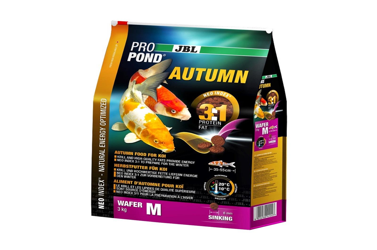 JBL ProPond Autumn M  Herbstfutter  für mittlere Koi 3 Kg