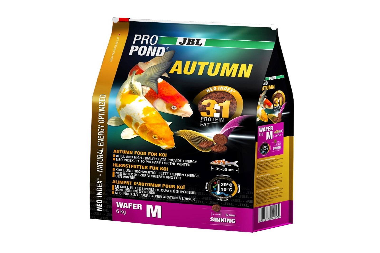 JBL ProPond Autumn M  Herbstfutter  für mittlere Koi 6 Kg