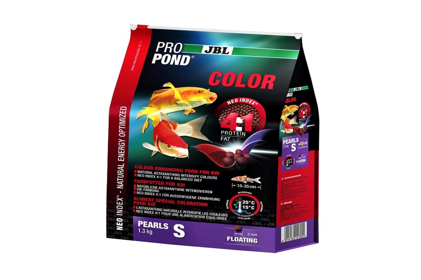 JBL ProPond Color S Farbfutter 1,3 Kg  für kleine Koi