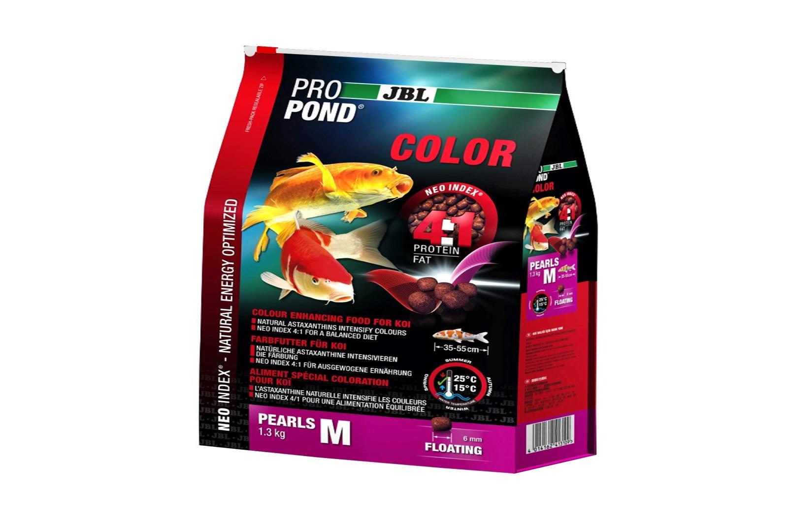 JBL ProPond Color M  Farbfutter 1,3 Kg  für mittlere Koi