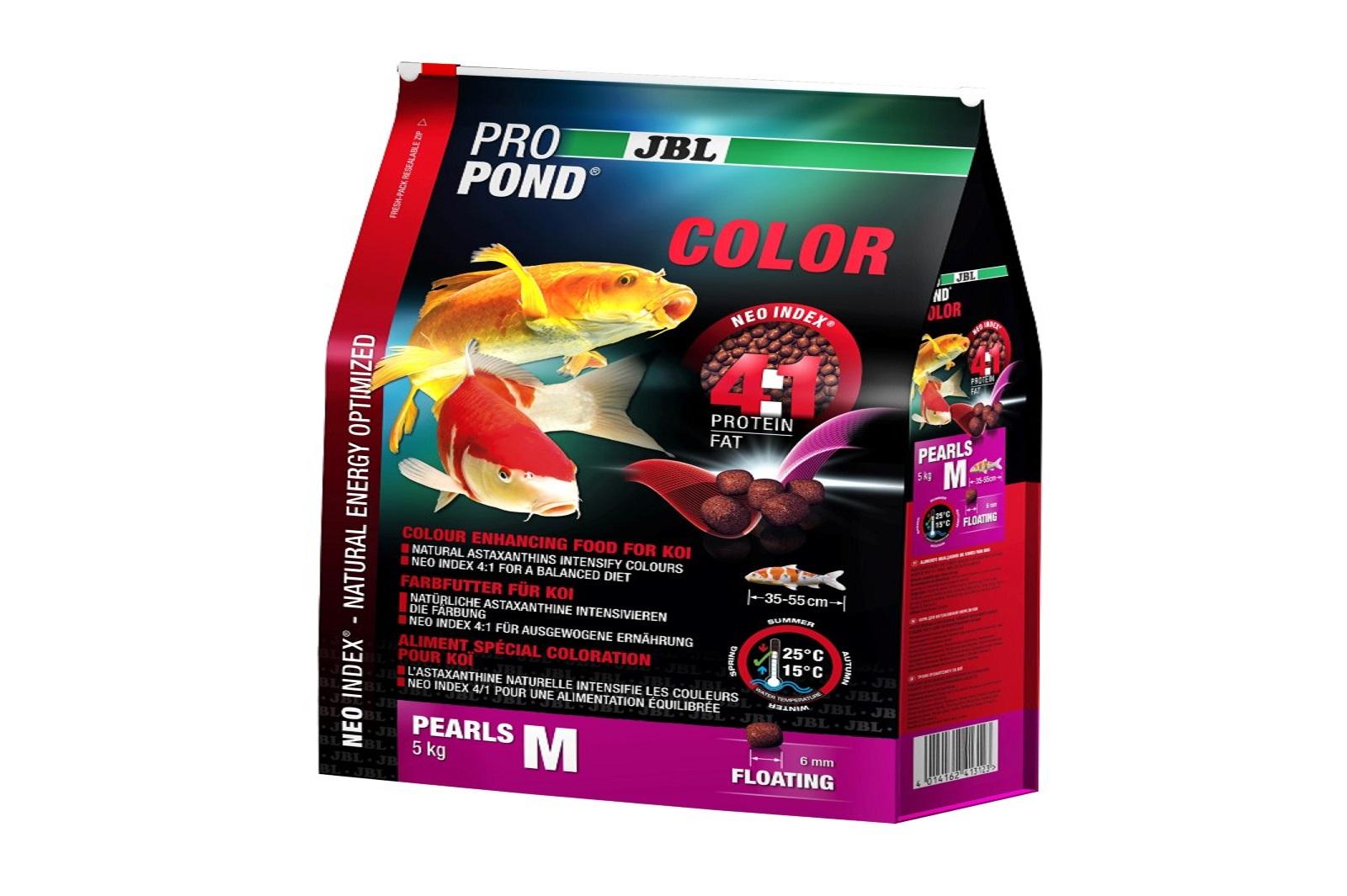 JBL ProPond Color M  Farbfutter 5 Kg  für mittlere Koi