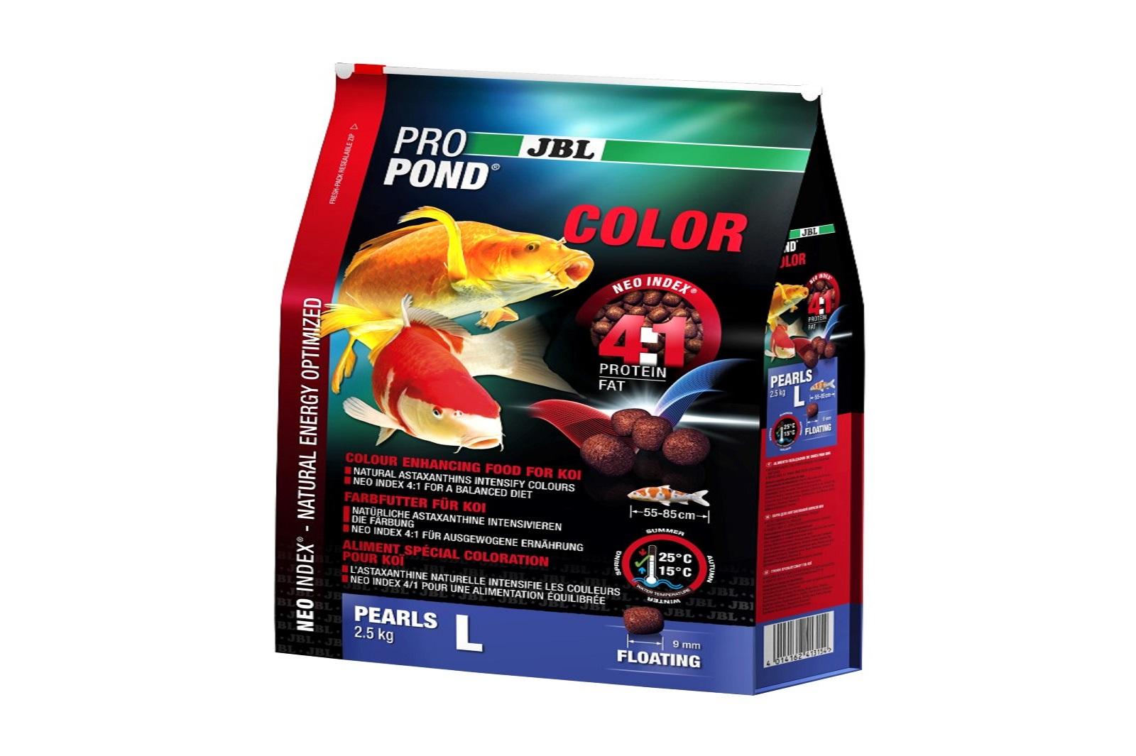 JBL ProPond Color L  Farbfutter 2,5 Kg für große Koi