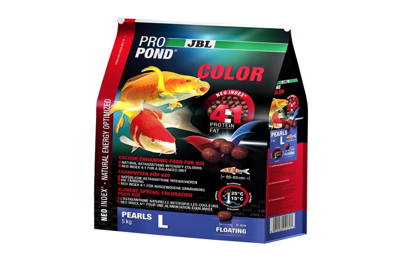 JBL ProPond Color Pearls L  Farbfutter 5 Kg  für große Koi