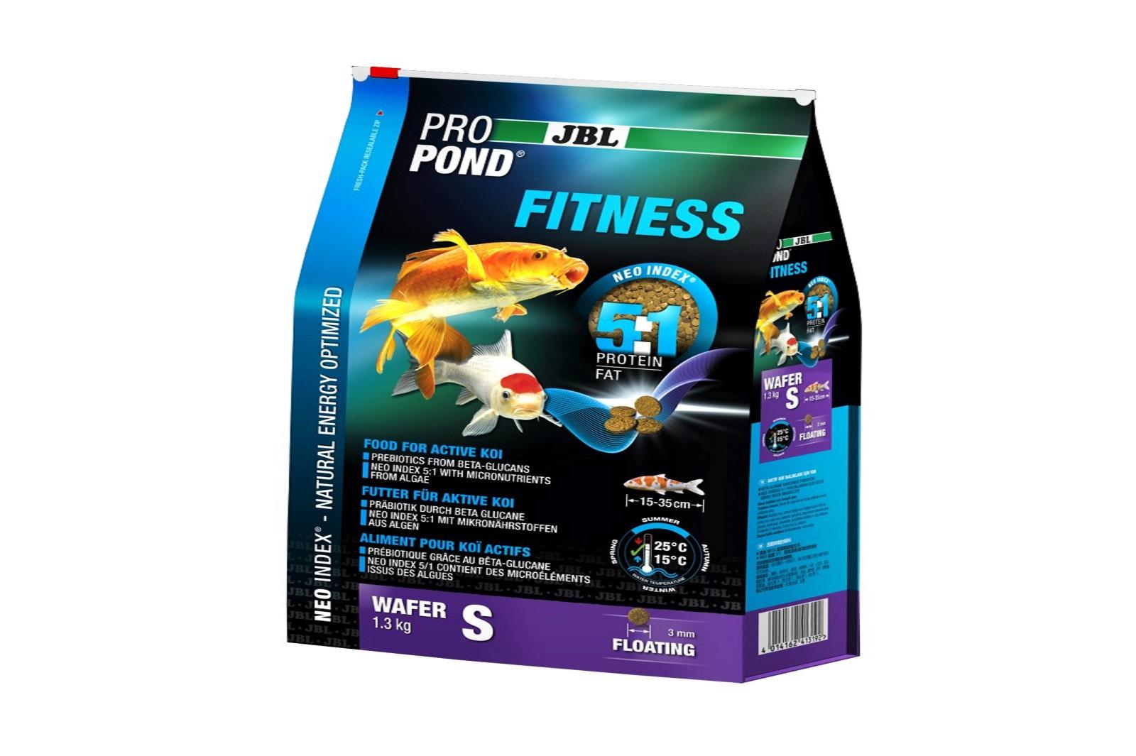 JBL ProPond Fitness S Fitnessfutter 1,3 Kg  für aktive Koi