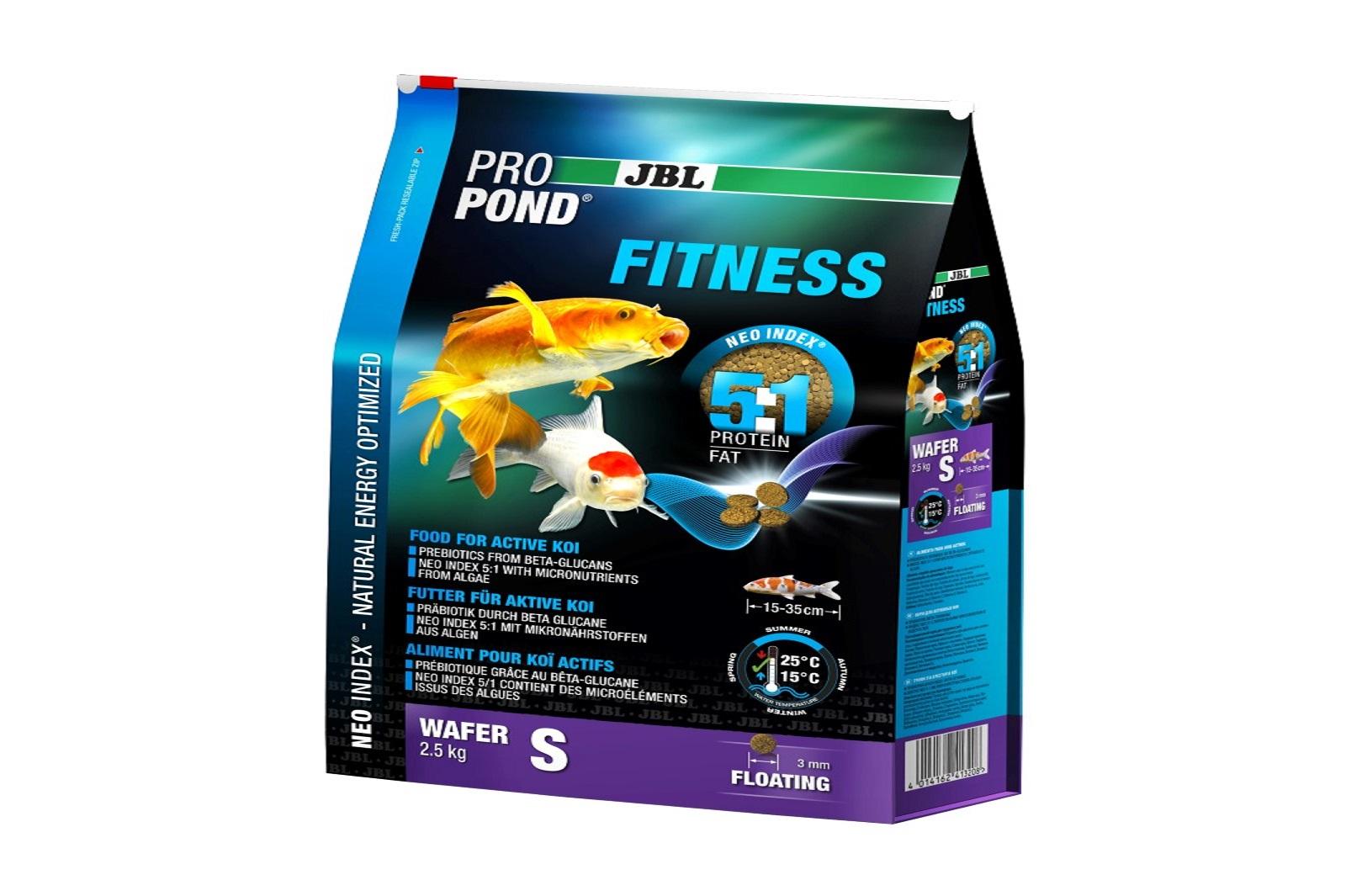 JBL ProPond Fitness S Fitnessfutter 2,5 Kg für aktive Koi