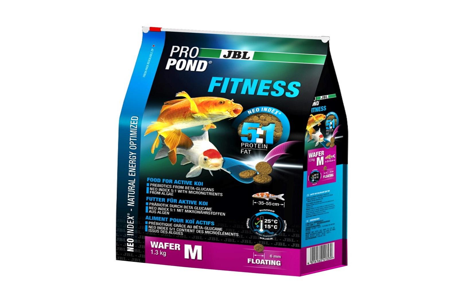 JBL ProPond Fitness M Fitnessfutter 1,3 Kg  für aktive Koi