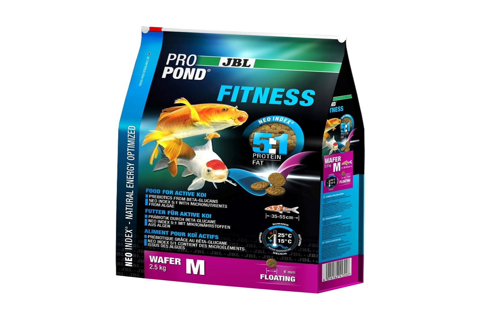 JBL ProPond Fitness M Fitnessfutter 2,5 Kg  für aktive Koi
