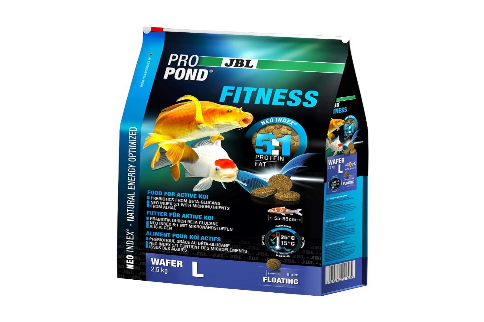 JBL ProPond Fitness L Fitnessfutter 2,5 Kg  für aktive große Koi