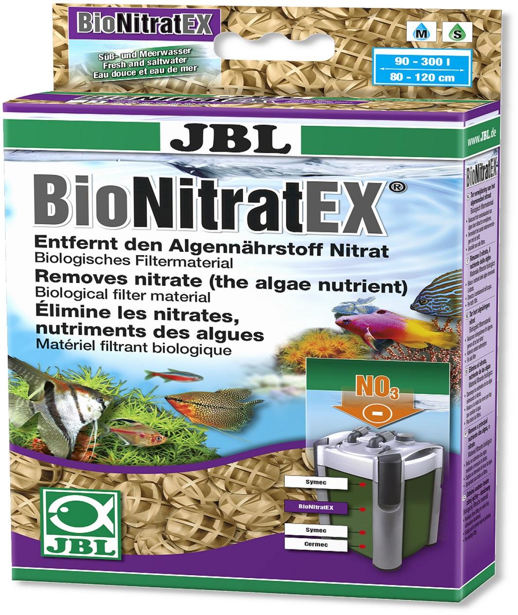 JBL BionitratEX Entfernt Nitrat aus Aquariumwasser