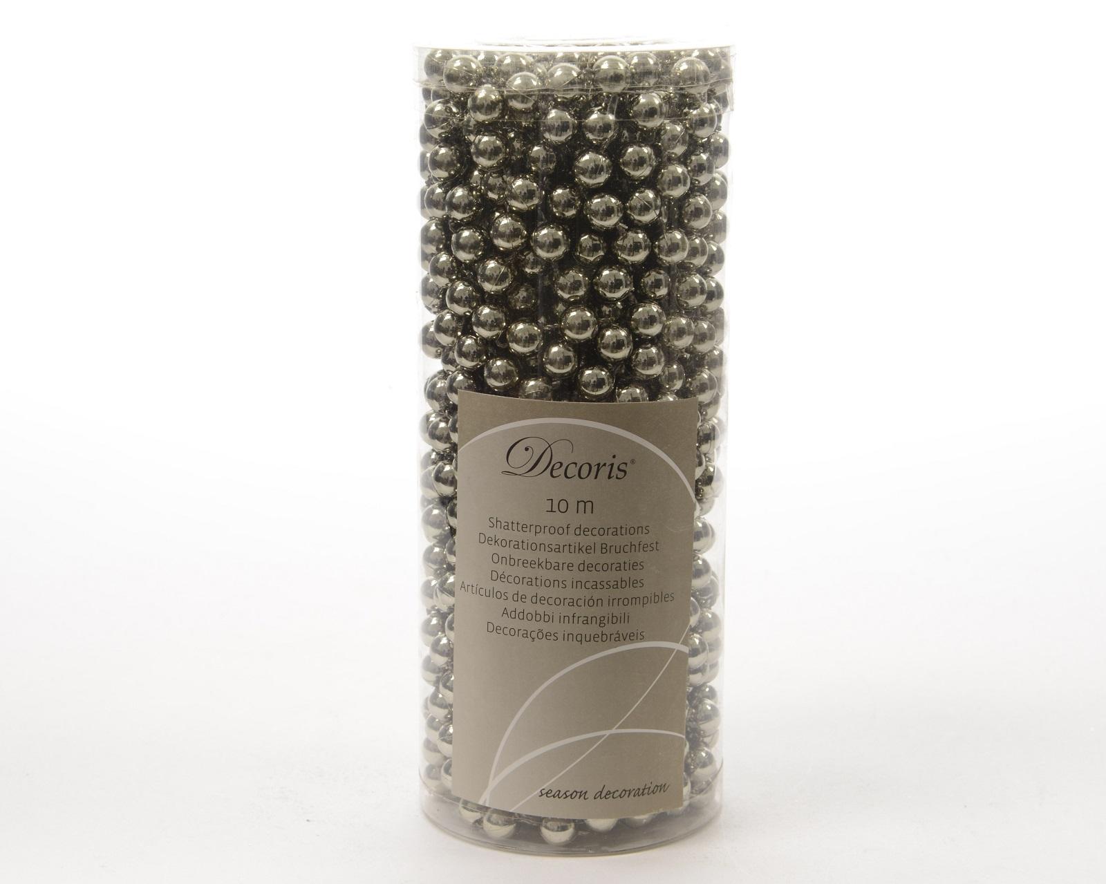 Perlenkette Kette Perlengirlande Baumschmuck Weihnachtsschmuck Deko lehm