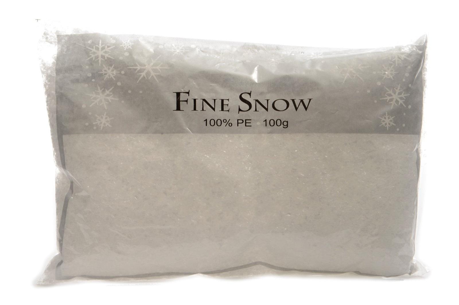 Schnee Kunstschnee Pulverschnee Dekoschnee weiß Basteln Weihnachten 100 g