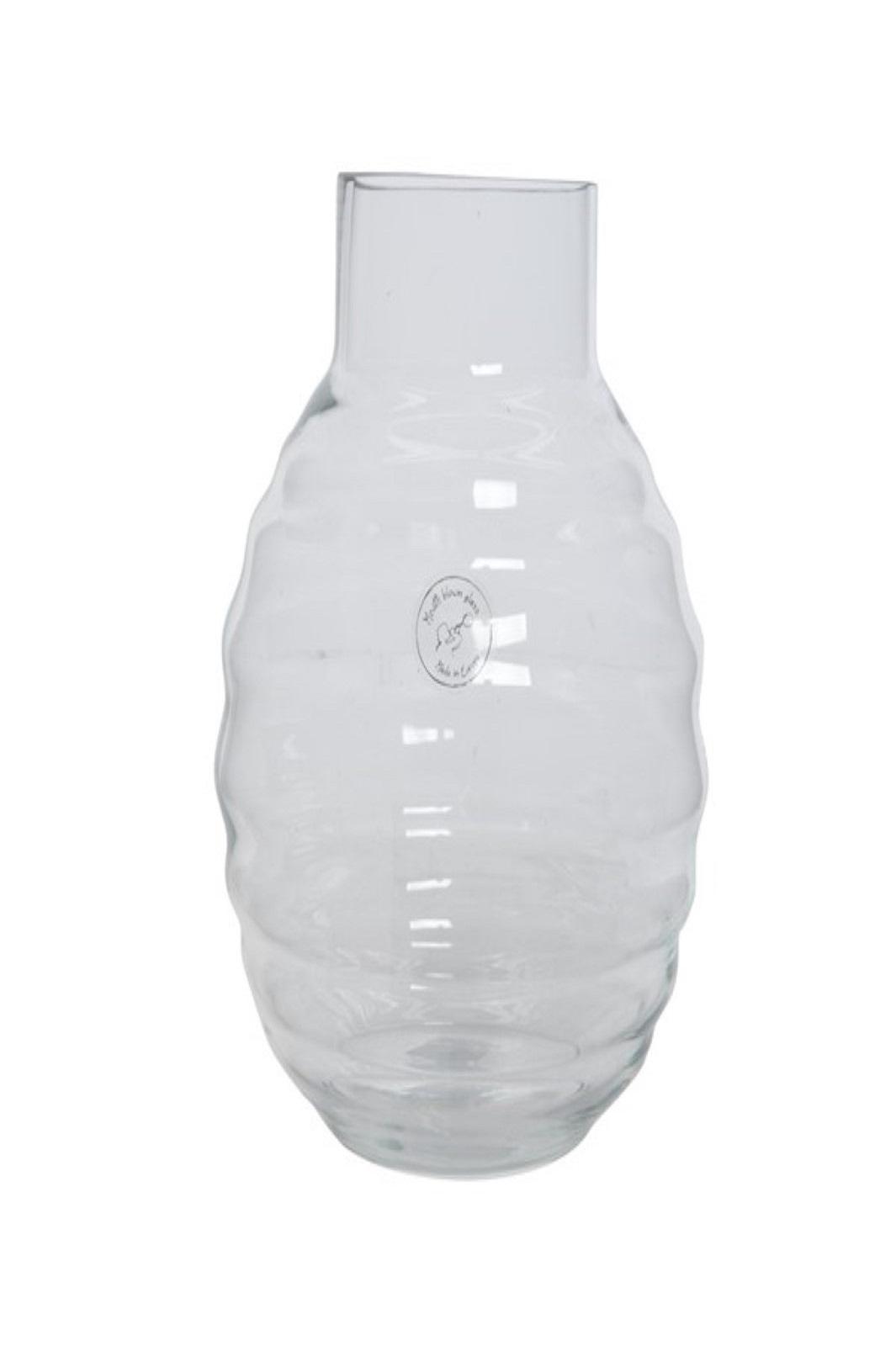 Vase Blumenvase Glas mundgeblasen Ø 20 x 25 cm