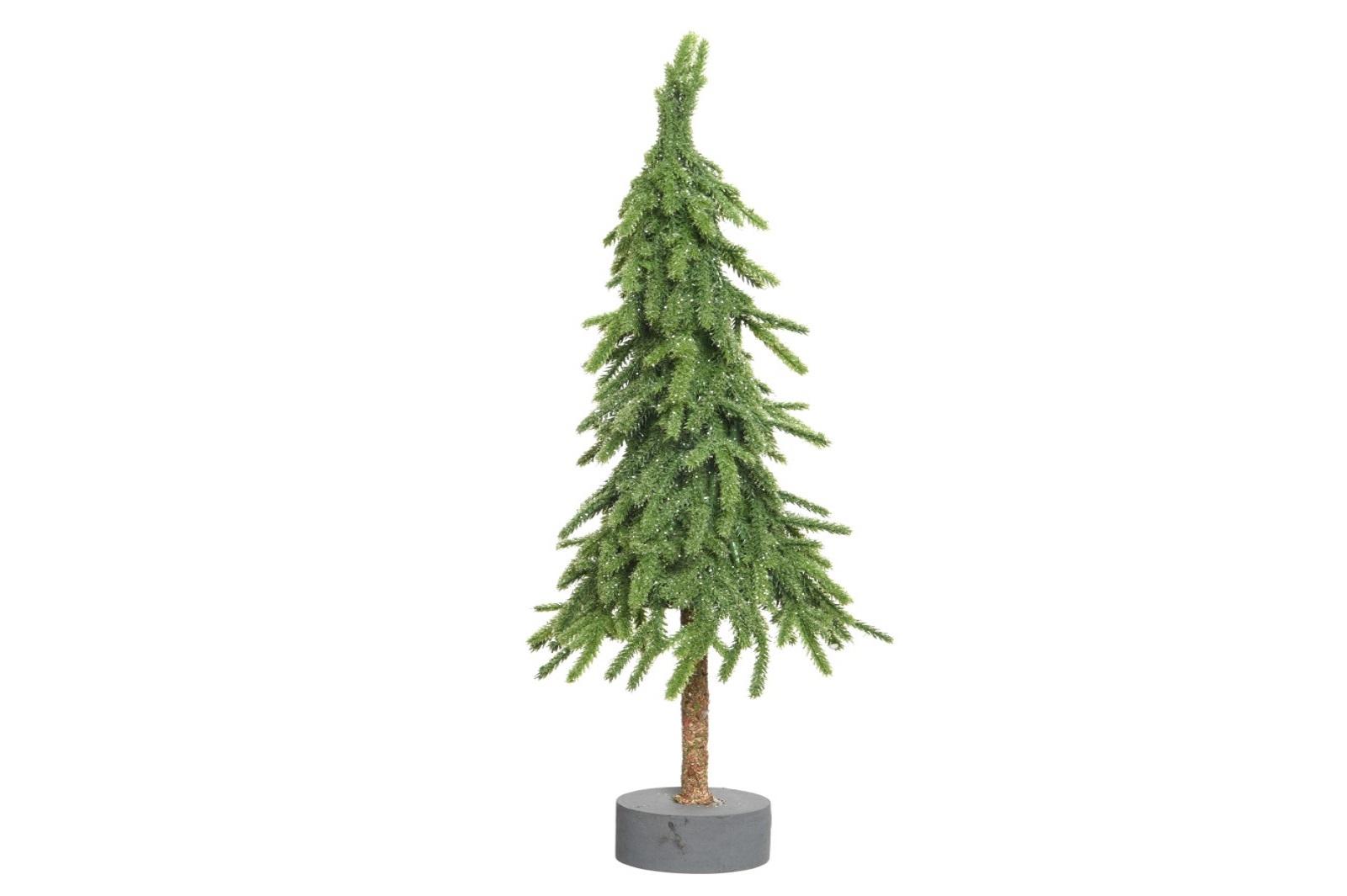 PE Mini Weihnachtsbaum a Staender gruen