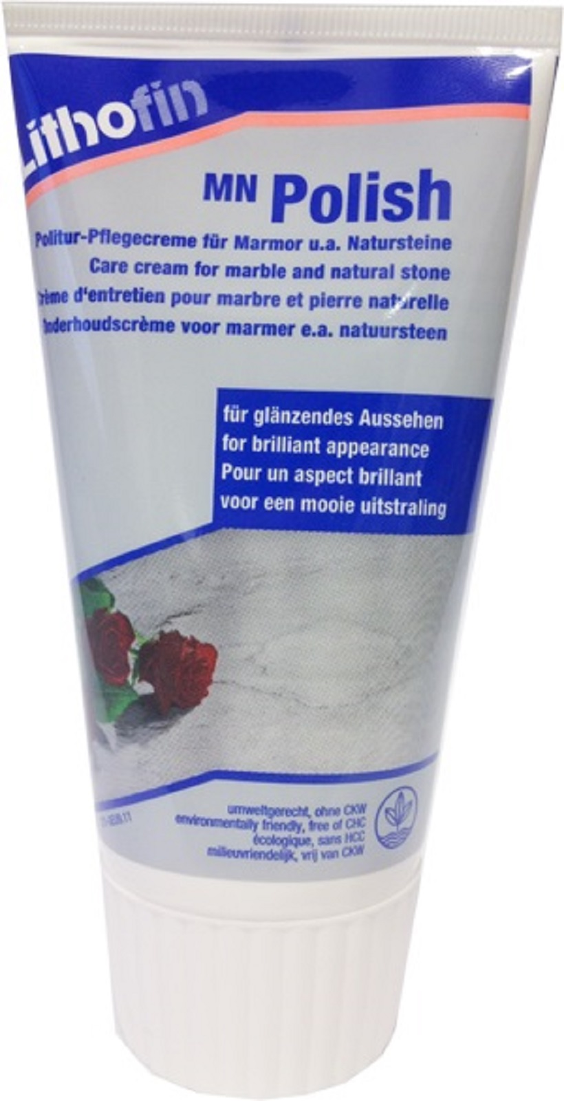 Lithofin MN Polish Politurcreme für Marmor und Natursteine 150 ml