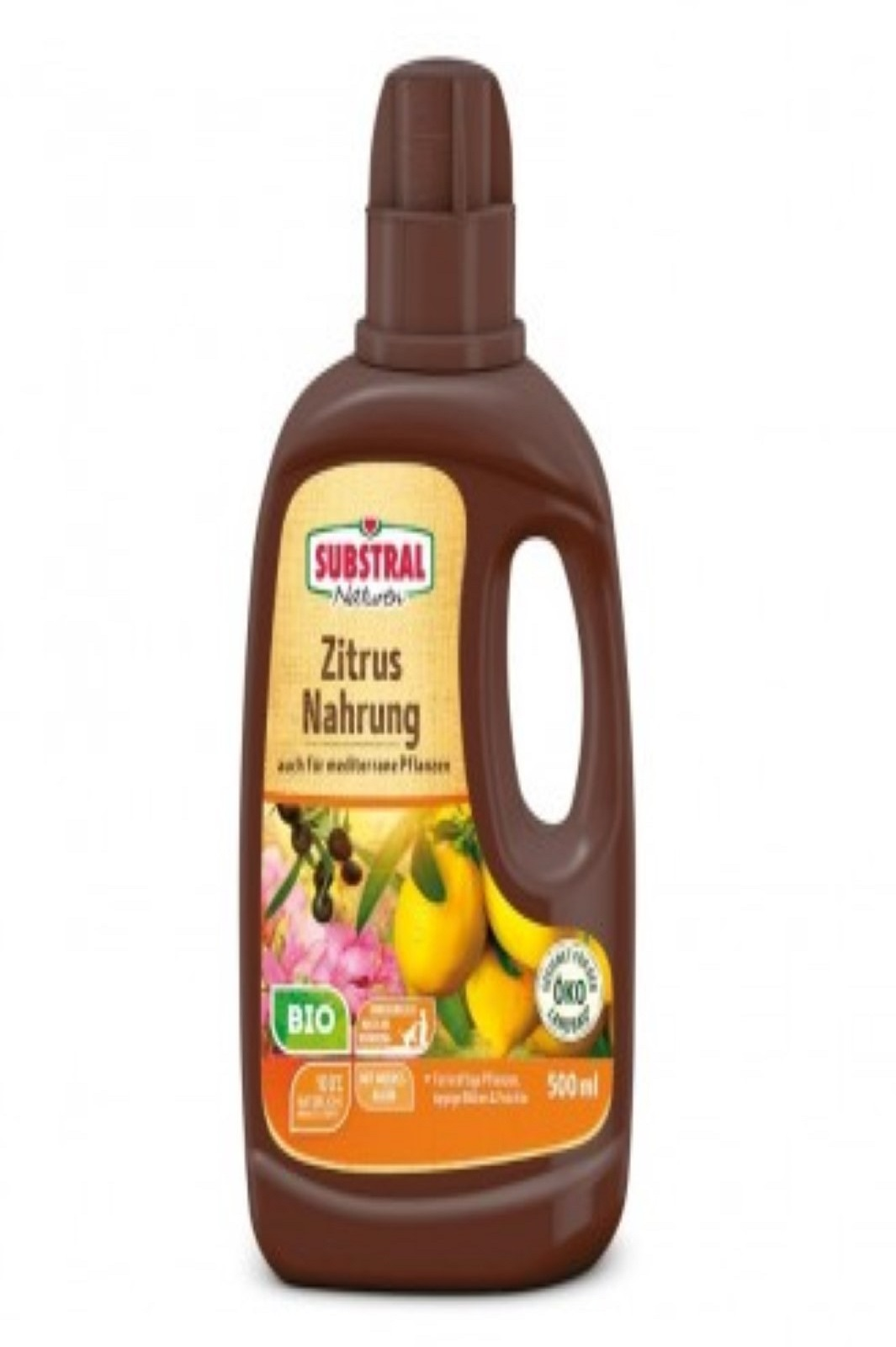 Naturen BIO Zitrus und Mediterrane Pflanzen Nahrung 500 ml