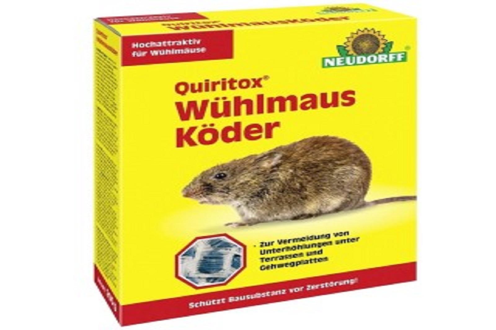 Neudorff  Quiritox Wühlmausköder 2 x 200 g