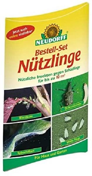 Neudorff Bestellset Nützlinge Insekten gegen Schädlinge