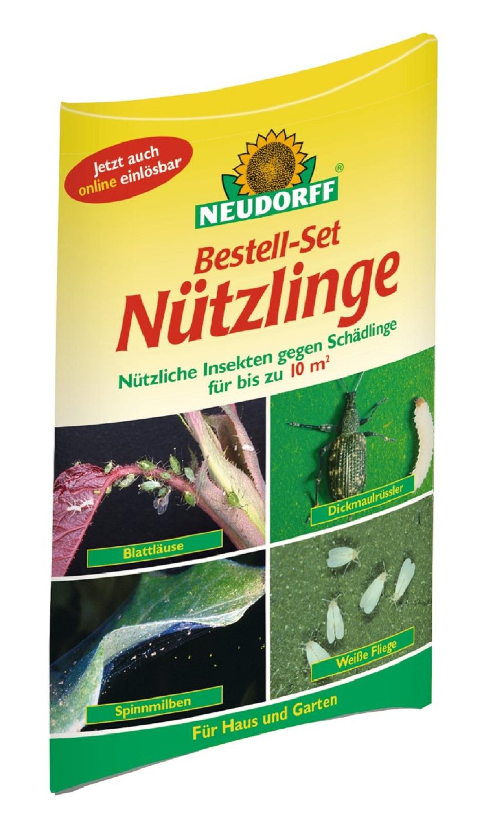 Neudorff Bestellset Nützlinge gegen Schadinsekten 10 qm