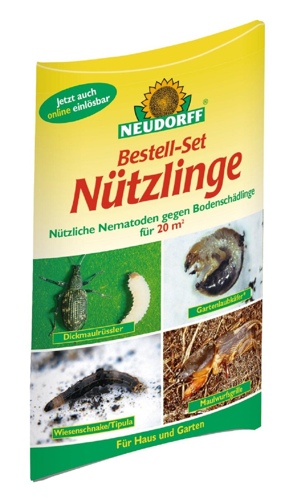 Bestellset Nützlinge gegen Bodenschädlinge von Neudorff 20qm