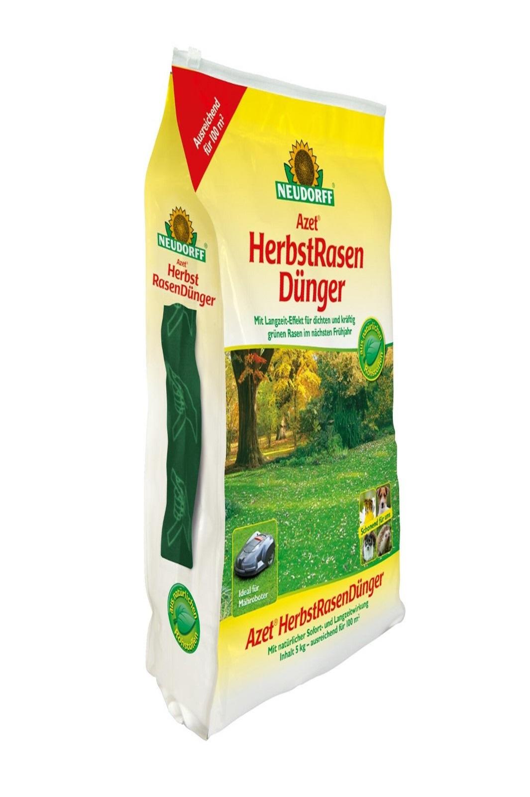 Neudorff  Azet Herbstrasendünger 5 kg Langzeitdünger