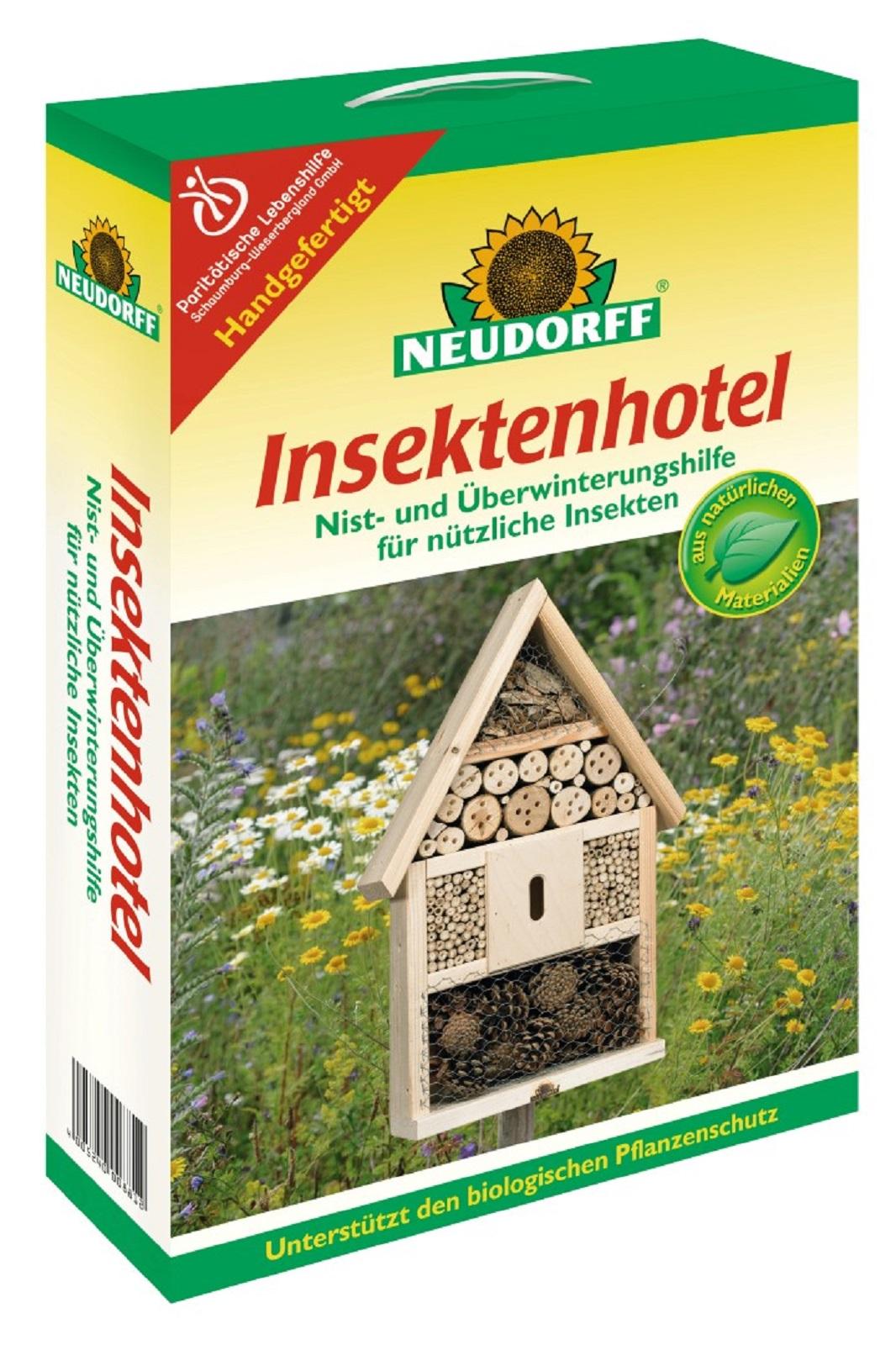 Insektenhotel Insektenhaus  für Bienen Insekten Schmetterlinge