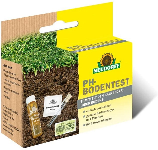 Neudorff ph-Bodentest komplett Set