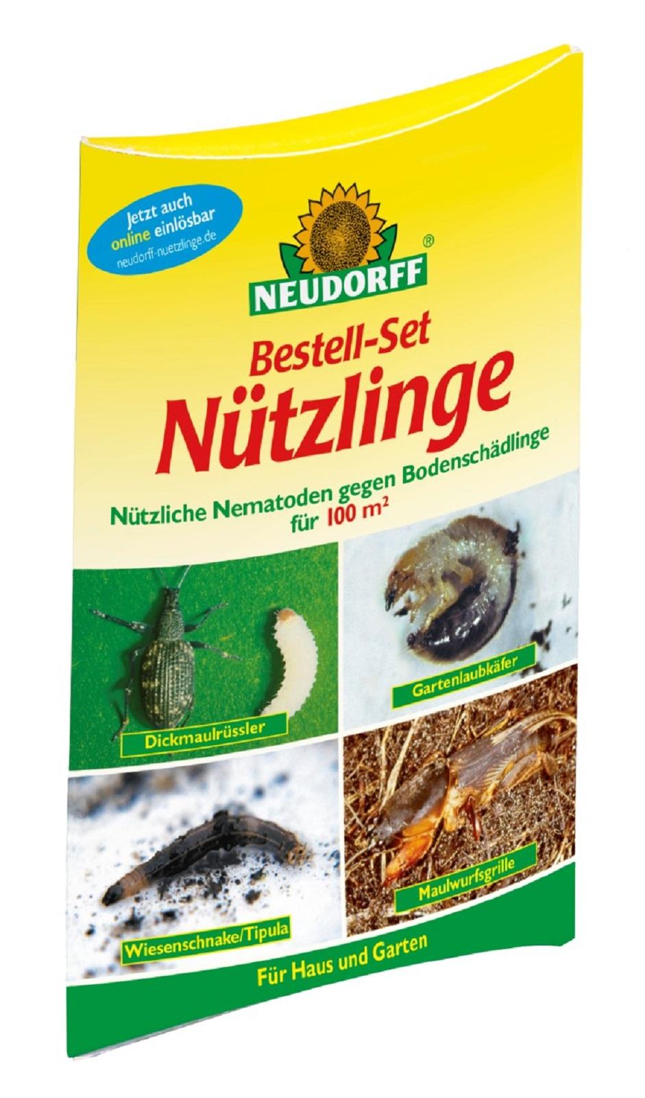 Neudorff Bestell-Set Nützlinge für Großflächen 100m²