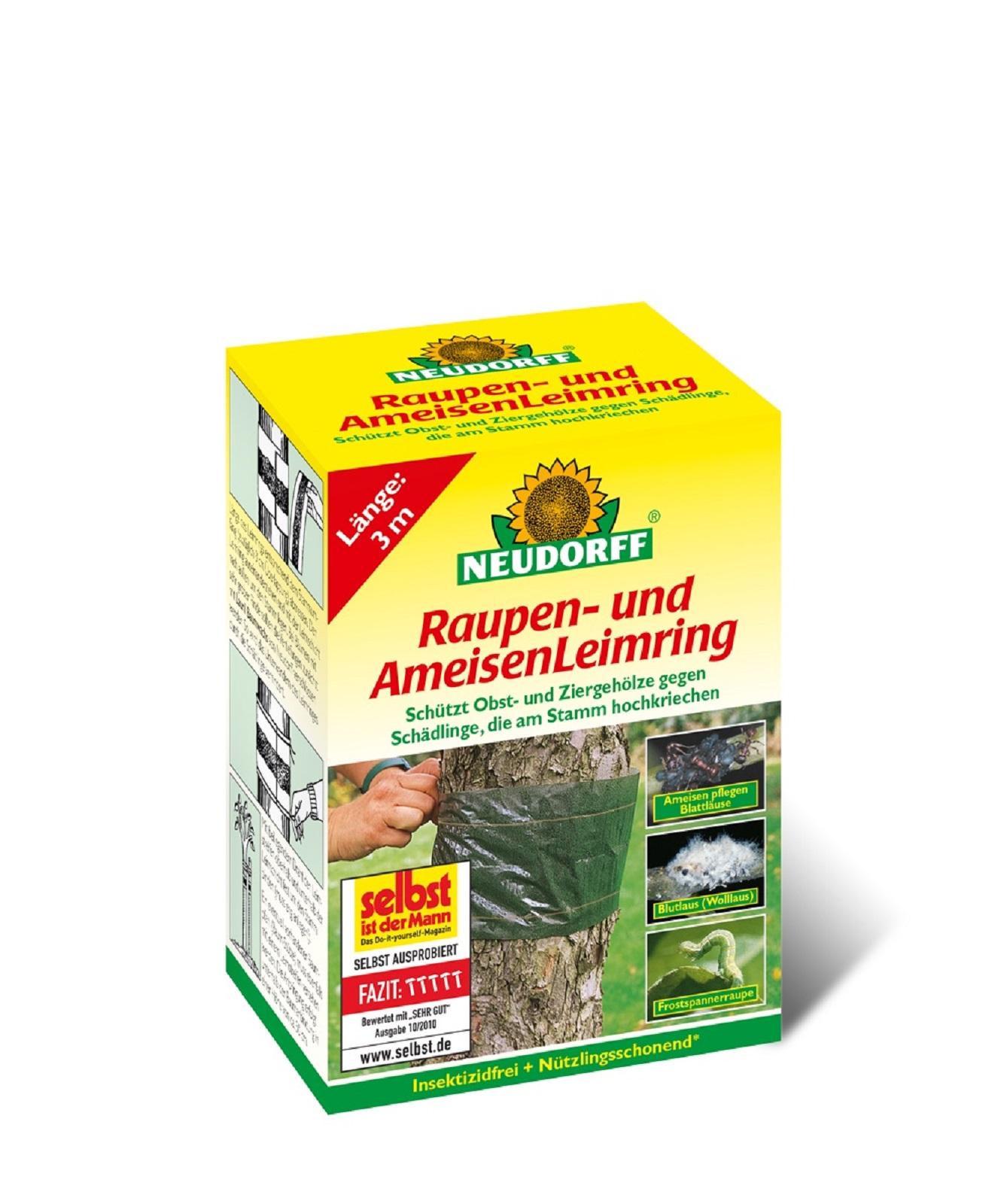 Neudorff Raupen und Ameisen Leimring Inhalt 3 m