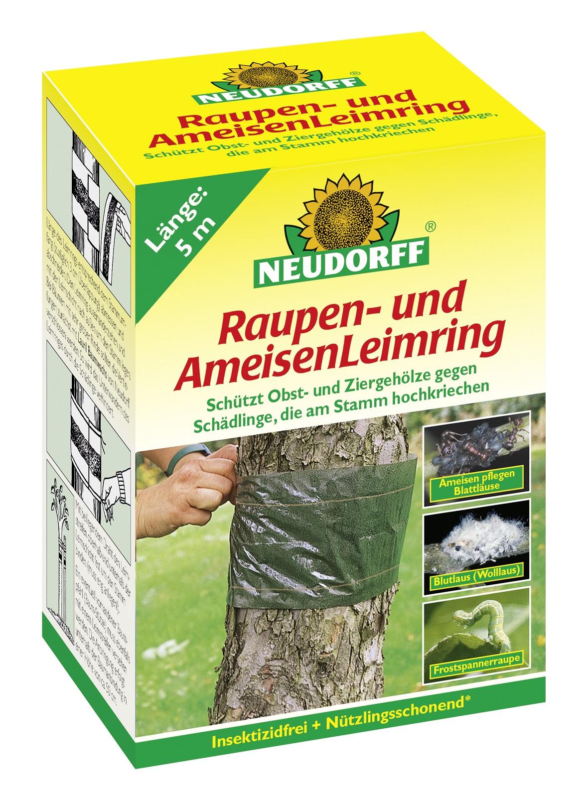 Neudorff Raupen und Ameisen Leimring 5 m lang