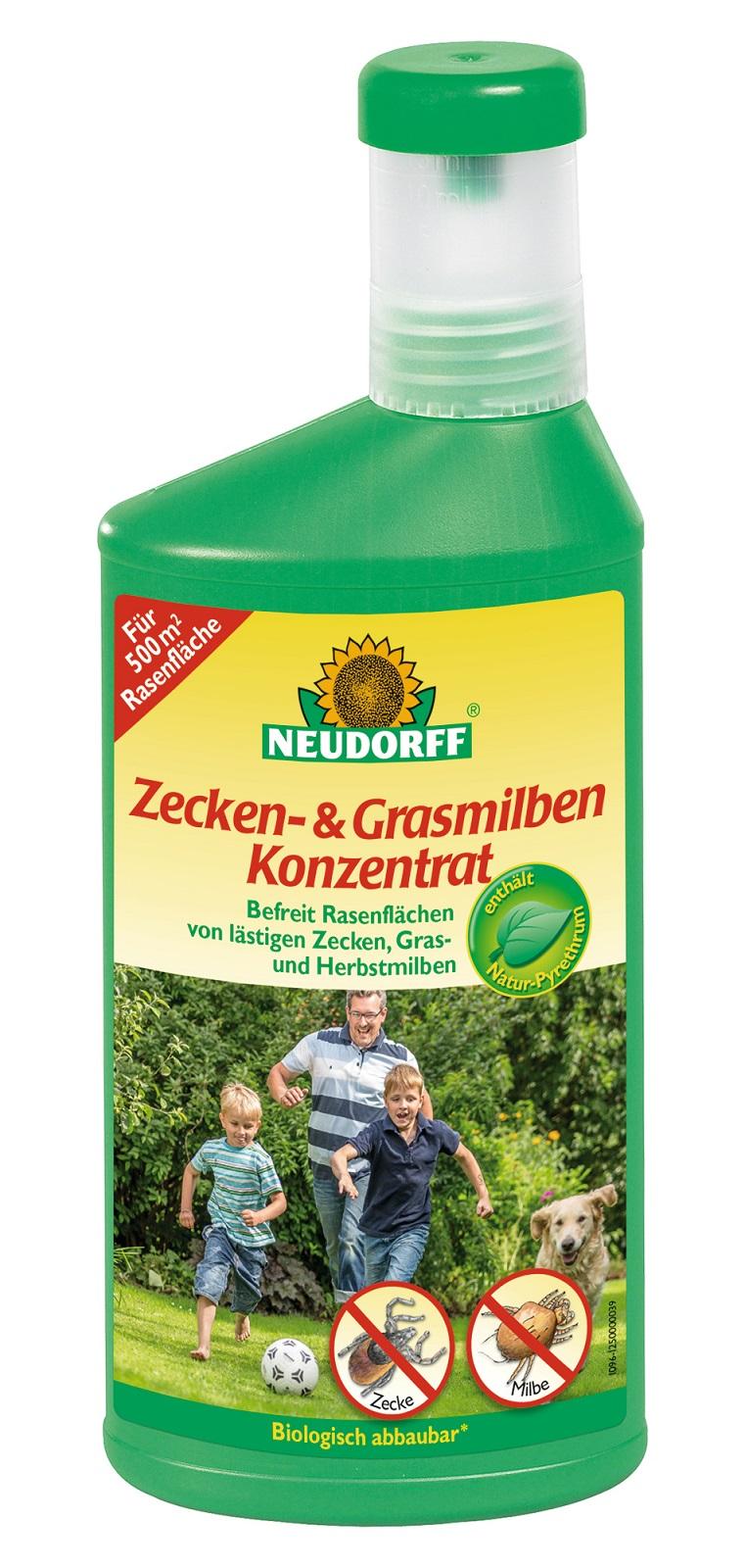Neudorff Zecken und Grasmilben Konzentrat 500 ml