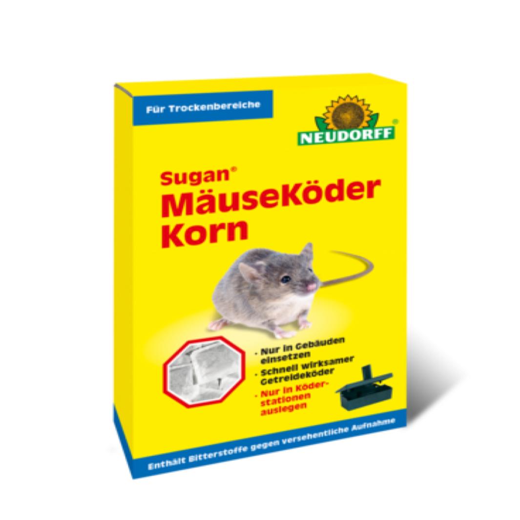 Neudorff  Sugan Mäuseköder Korn   200 g Mäusegift optimal für trockene Bereiche