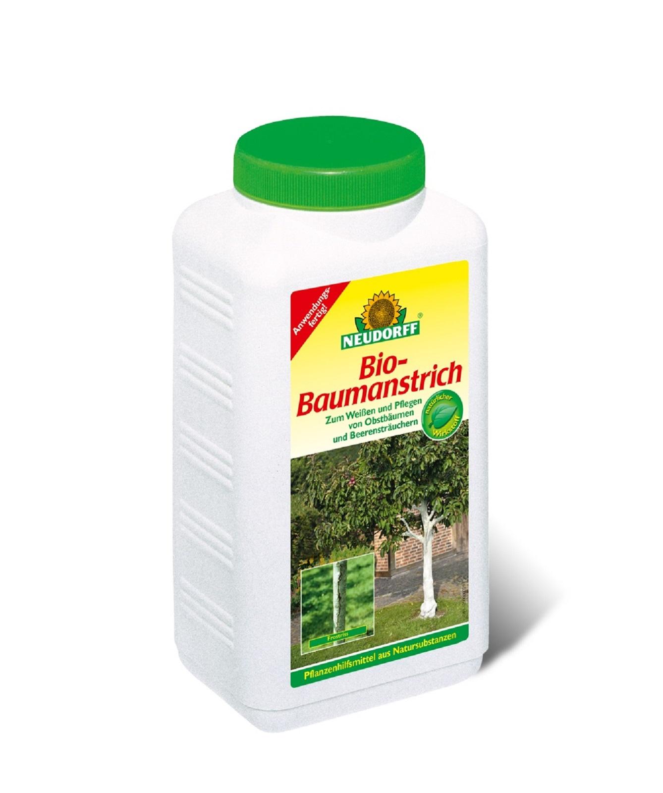 Bio Baumanstrich 2 Liter Baumpflege für Obstbäume und Beerensträucher