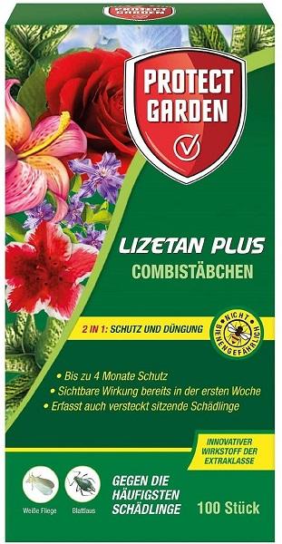Protect Garden Lizetan Plus Combistäbchen 100 Stück Schutz und Dünger in einem