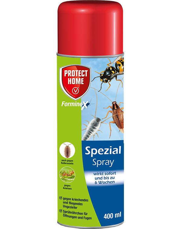 Protect Spezial Spray gegen kriechende und fliegende Ungeziefer ( auch Wespen )