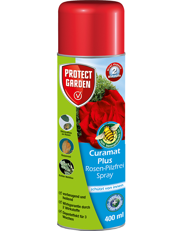 Protect Curamat Plus Rosen-Pilzfrei Spray 400ml