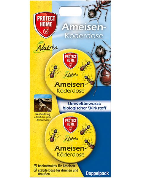 Protect Home Ameisen-Köderbox Natria 2 Stück Ameisenmittel