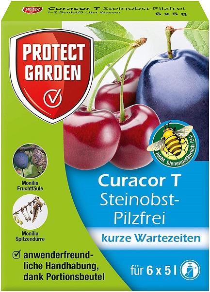 PG   Steinobst-Pilzfrei Curacor 6 x 5 g gegen Pilzkrankheiten an Steinobst