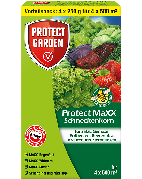 Protect Schneckenkorn protect Maxx 4x 250 g