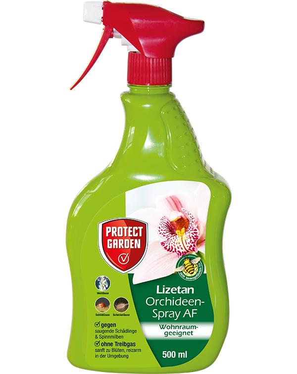 Protect Orchideen Schädlingsfrei Lizetan AF 500 ml Sprühflasche