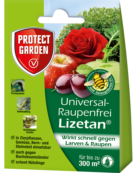Protect Garden Universal Raupenfrei Lizetan 9 ml  gegen Larven u. Raupen