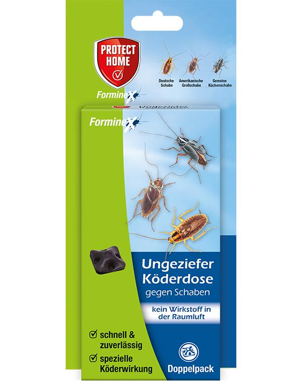 Protect Home Forminex Ungezieferköderdose auch gegen Schaben 2 Stück