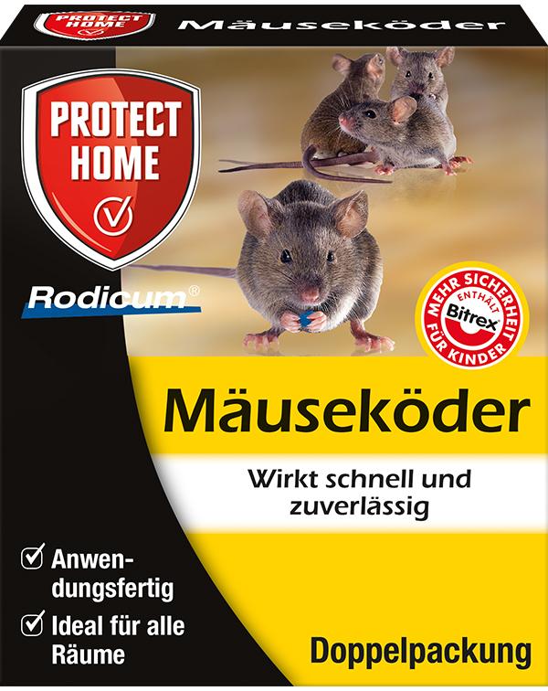 Protect Home   Mauseköder 2 Stück  Köderbox mit Mäusegift