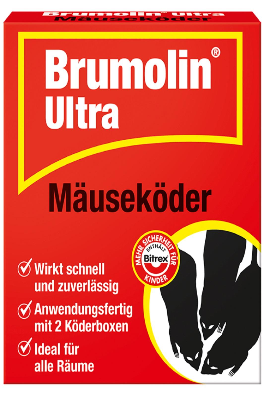 Brumolin Ultra Mäuseköder Bitrex