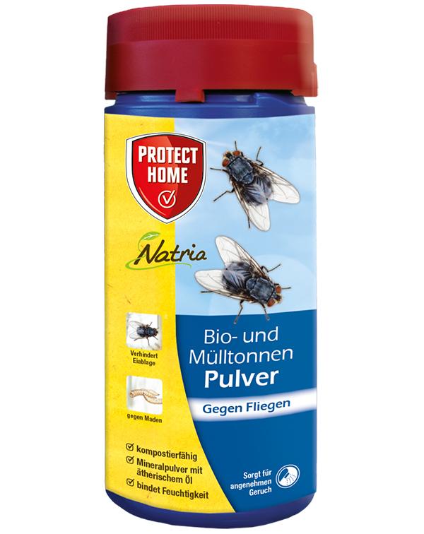 Protect  Home Bio-& Mülltonne Pulver 500 g gegen Fliegen Maden