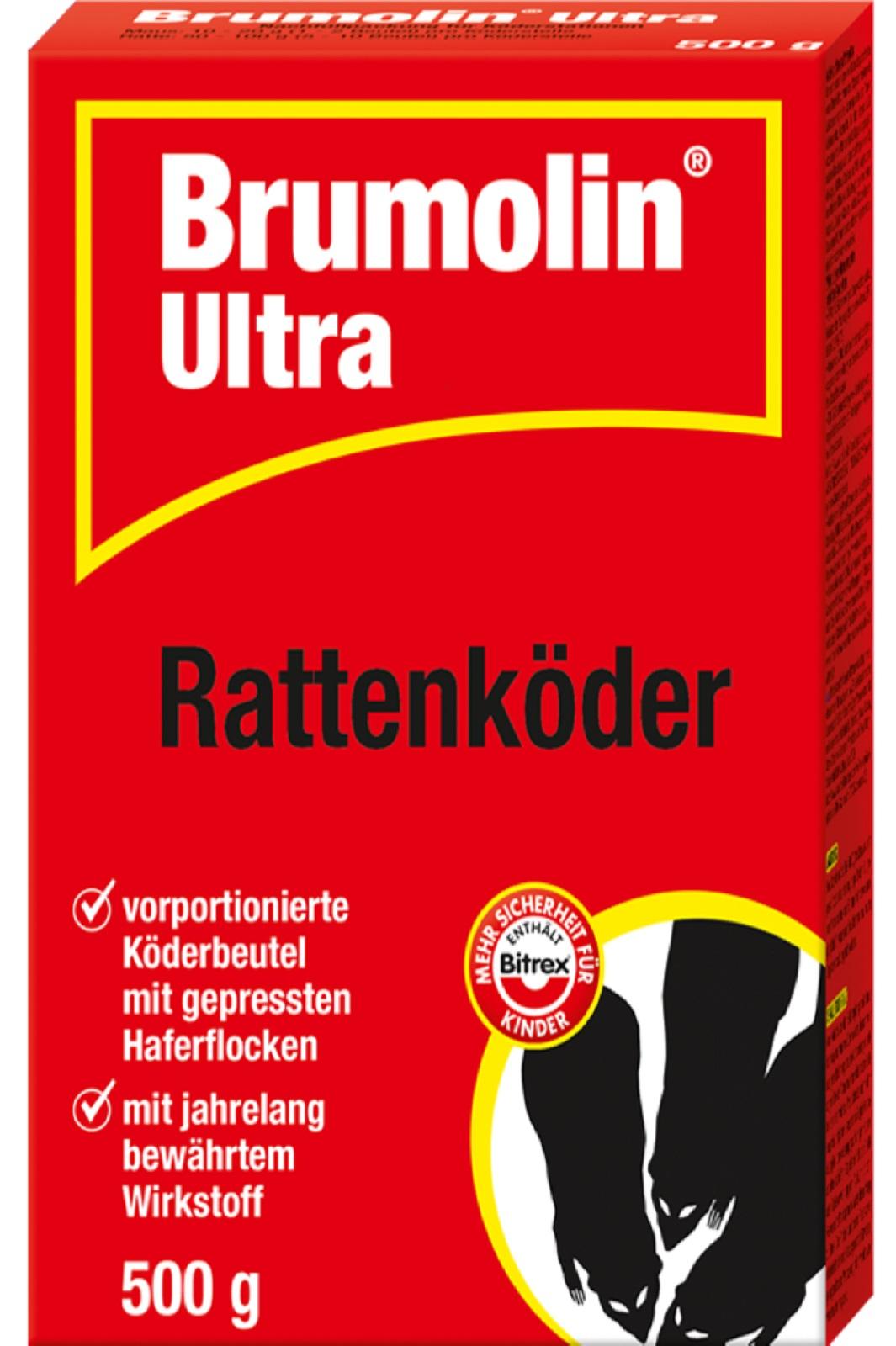 Brumolin Ultra Rattenköder 500 g